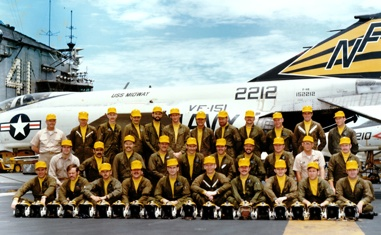 VF-151 Squadron Officers Photo