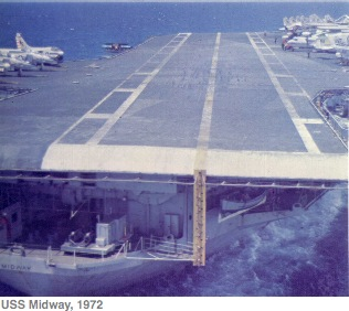 Approach to flight deck