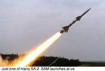 North Vietnamese Sam Launch
