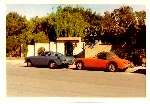 My Volvo 1800 and MGA Sports Cars